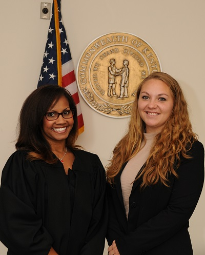Elizabeth Sherman and Judge Williams